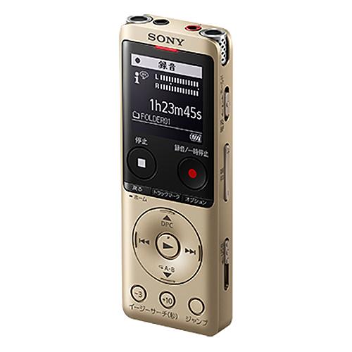 ソニー ステレオICレコーダー ゴールド ICD-UX575F-NC