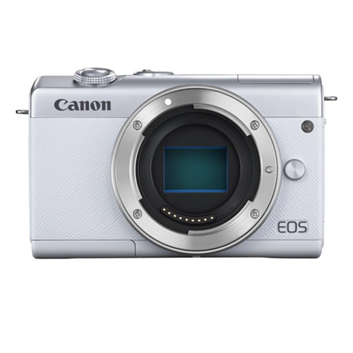 キヤノン 【お一人様1台限り】 EOS M200 Body (ホワイト) (レンズは別売です) EOSM200WH-BODY【納期目安:2週間】