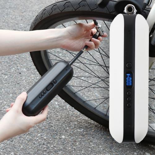 スリーアールソリューション 車・自転車・ボールなど空気入れはこれ一台! 電動空気入れ Airpon (ホワイト) 3R-AIRPONWT