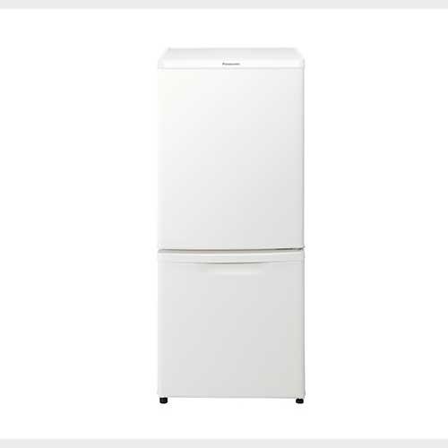 【あす楽対応_関東】パナソニック 138L 2ドアパーソナル冷蔵庫 マットバニラホワイト NR-B14CW-W