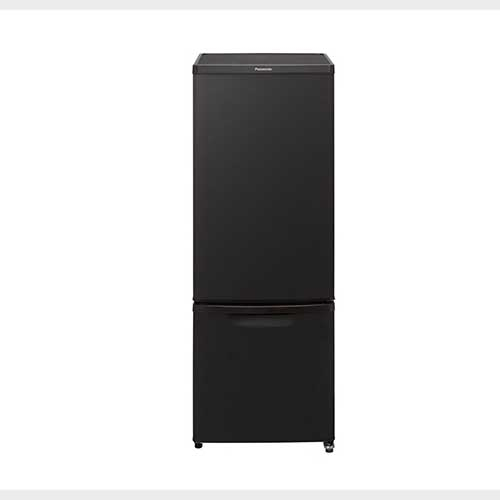 パナソニック 168L 2ドアパーソナル冷蔵庫 マットビターブラウン NR-B17CW-T