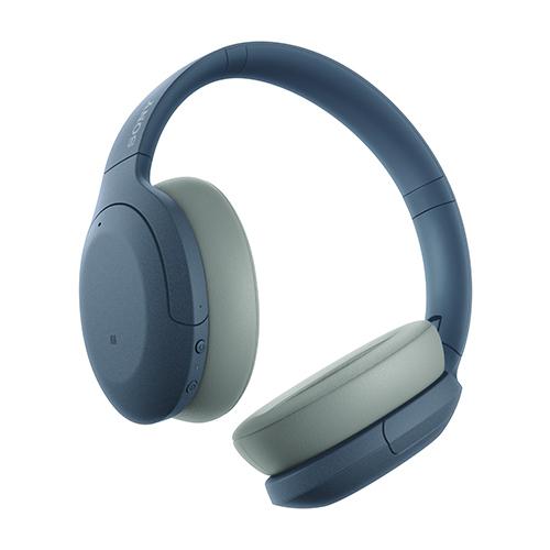 ソニー ハイレゾワイヤレス、Bluetooth対応ヘッドホン ブルー WH-H910N-L