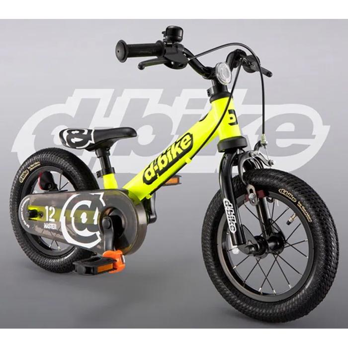 アイデス D-Bike マスター 12 EZB ネオンイエロー OTM-50454【納期目安:1週間】