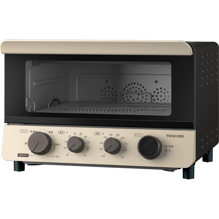 テスコム 低温から高温まで1台6役のマルチオーブン 低温コンベクションオーブン TSF601C