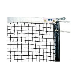 その他 KTネット 全天候式上部ダブル 硬式テニスネット センターストラップ付き 日本製 【サイズ:12.65×1.07m】 ブラック KT1227 ds-2252753