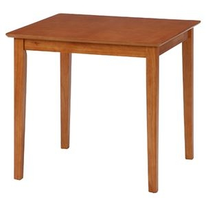 その他 ダイニングテーブル/リビングテーブル 【ライトブラウン】 75×75cm 正方形 木製 アジャスター付き 『スノア』 ds-2253036