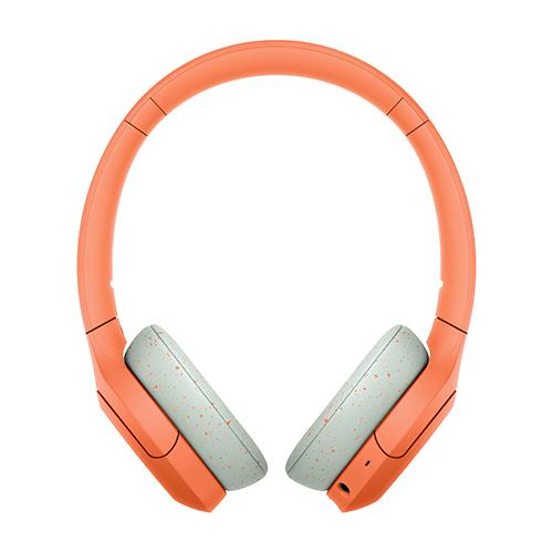 ソニー ハイレゾワイヤレス、Bluetooth対応ヘッドホン オレンジ WH-H810-D