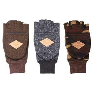 その他 防風フリース フィンガレス手袋 メンズ 3柄アソート 10双セット ds-2256269