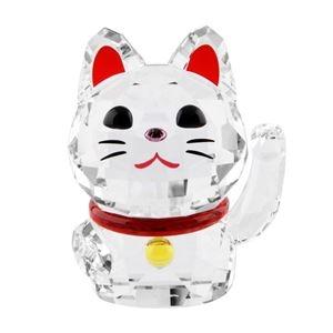 その他 SWAROVSKI(スワロフスキー) 5301582 招き猫モチーフ ラッキーキャット クリスタル フィギュア 置物 Chat Porte Bonheur【代引不可】 ds-2258034