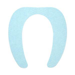 その他 (まとめ) 便座シート/吸着べんざシート 【ブルー】 洗える トイレ用品 『レック ぴたQ』 【72個セット】 ds-2258752
