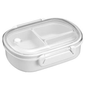 その他 (まとめ) 弁当箱/ランチボックス 【中子付き】 小容量サイズ シンプル ベーシック ホワイト 『BPビーブ』 【40個セット】 ds-2259671