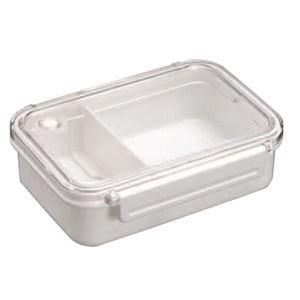 その他 (まとめ) 弁当箱/ランチボックス 【仕切付き】 小容量サイズ シンプル ベーシック ホワイト 『BPビーブ』 【40個セット】 ds-2259672