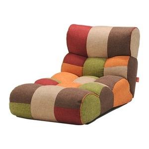 その他 ソファー座椅子/フロアチェア 【MULTI マルチ】 ワイドタイプ 41段階リクライニング 『ピグレットJrロング』 ds-2251924