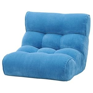 その他 ソファ座椅子 ピグレット2nd-コーデュロイ BL(ブルー) ds-2251947