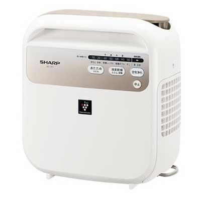 【あす楽対応_関東】シャープ プラズマクラスター干し ふとん乾燥機 UD-CF1-W