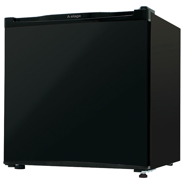 A-Stage 1ドア冷蔵庫46L (ブラック) AS-46B