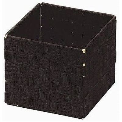 ちどり産業 バスケットBOX ダークブラウン 58-01DB(小物入れ PE編み) 36個セット【沖縄・離島配達不可】 4517657580138-36