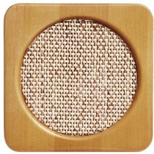 トルネ コースター 木製 ウッドコースター ネット 角 400個セット【沖縄・離島配達不可】 4904705162918-400