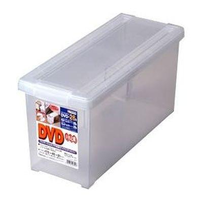 天馬 収納ボックス フタ付き DVD いれと庫 18個セット【沖縄・離島配達不可】 4904746423597-18