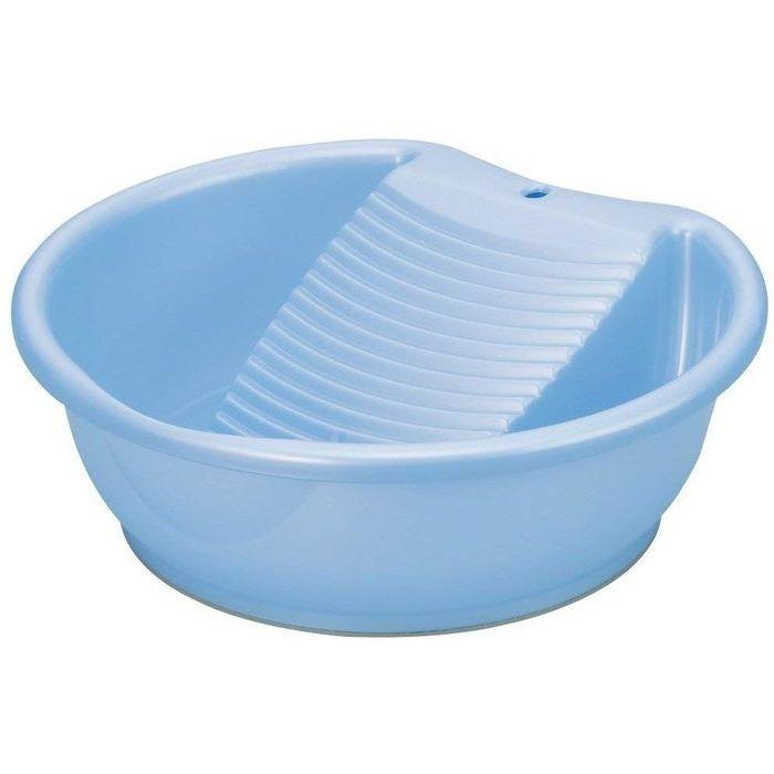 イノマタ化学 洗濯桶 ラブウォッシュ パールブルー 30個セット【沖縄・離島配達不可】 4905596311690-30
