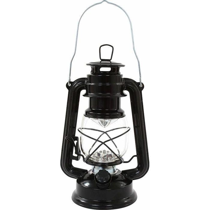 カクセー アンティーク LED ランタンライト 黒 AN-04 (ランタン) 24個セット【沖縄・離島配達不可】 4972940793525-24