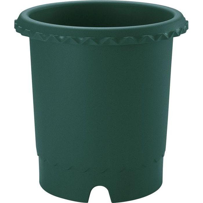 リッチェル 植木鉢 バラ鉢10号 ダークグリーン 18個セット【沖縄・離島配達不可】 4973655716038-18