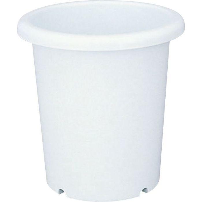 送料無料 リッチェル 40個セット 植木鉢 まとめ買い特価 長鉢 沖縄 4973895714511-40 離島配達不可 5号 日本製 ホワイト