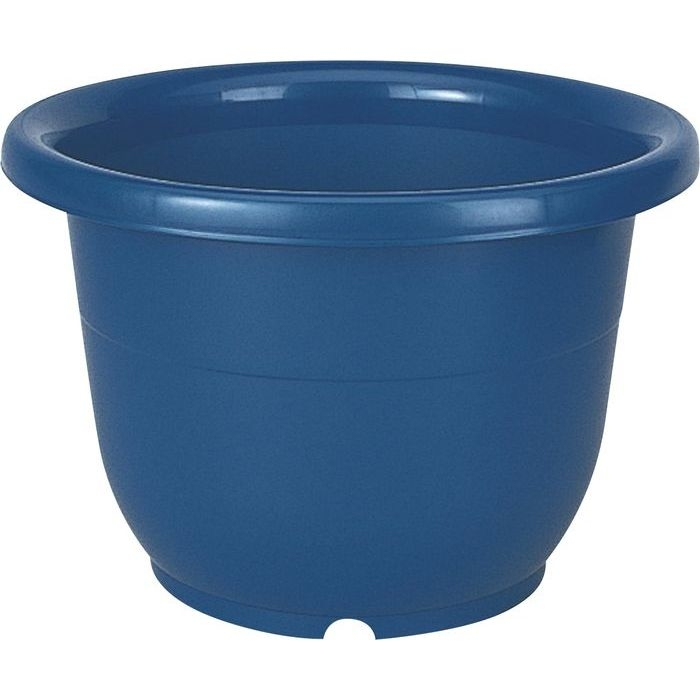 リッチェル 植木鉢 輪鉢 6号 ブルー 60個セット【沖縄・離島配達不可】 4973895716621-60