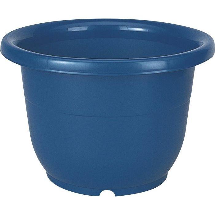 リッチェル 植木鉢 輪鉢 8号 ブルー 60個セット【沖縄・離島配達不可】 4973895716829-60