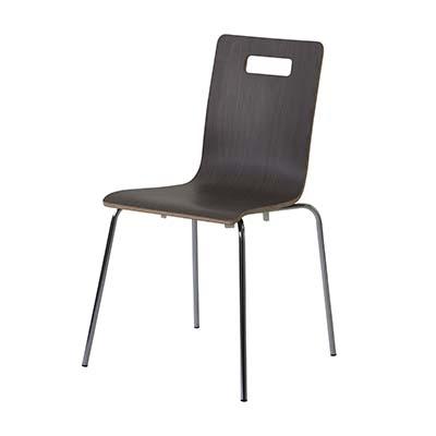 東谷(あづまや) 【お買い得! 4脚セット】ヴァーゴ チェア 飲食店用椅子 スタッキングチェア ミーティングチェア A2-301DBW