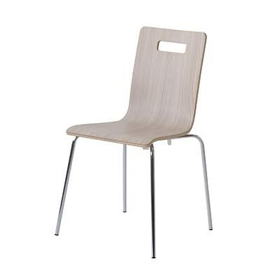 東谷(あづまや) 【お買い得! 4脚セット】ヴァーゴ チェア 飲食店用椅子 スタッキングチェア ミーティングチェア A2-301NAW