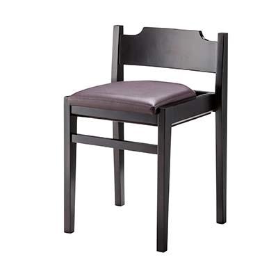 東谷(あづまや) 【お買い得! 2脚セット】リエート チェア 飲食店用椅子 スタッキングチェア (ブラウン) A2-213BR