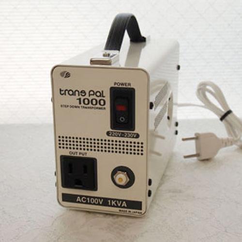 スワロー電機 ダウントランス 220・230V→100V / 1000W PAL-1000EP【納期目安:2週間】