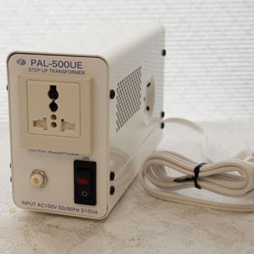 スワロー電機 アップトランス 100V→220・230V 500W PAL-500UE【納期目安:2週間】