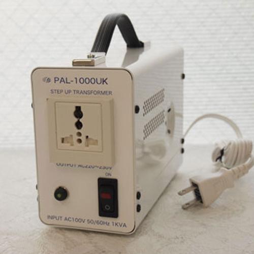 スワロー電機 アップトランス 100V→240V 1000W PAL-1000UK【納期目安:2週間】