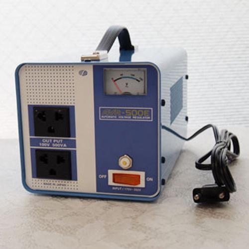 スワロー電機 電圧安定装置170~260V→100V 500W AVR-500E【納期目安:2週間】