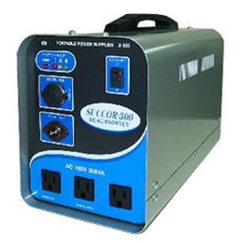 スワロー電機 ポータブルバッテリー(電源)300VA Z-300 4935253230606【納期目安:2週間】
