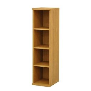 その他 カラーボックス(収納棚/カスタマイズ家具) 4段 幅30×高さ120.3cm セレクト1230BR ブラウン【代引不可】 ds-2262323