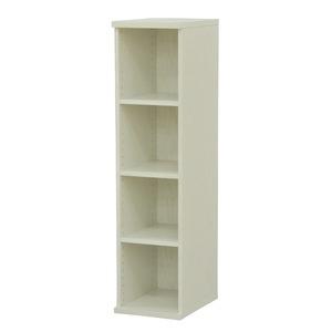 その他 カラーボックス(収納棚/カスタマイズ家具) 4段 幅30×高さ120.3cm セレクト1230WH ホワイト【代引不可】 ds-2262369