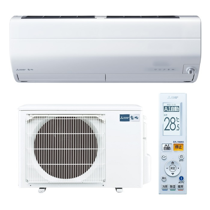三菱電機 エアコン 「霧ヶ峰 Zシリーズ」 単相200V(10畳用) ピュアホワイト MSZ-ZW2820S-W