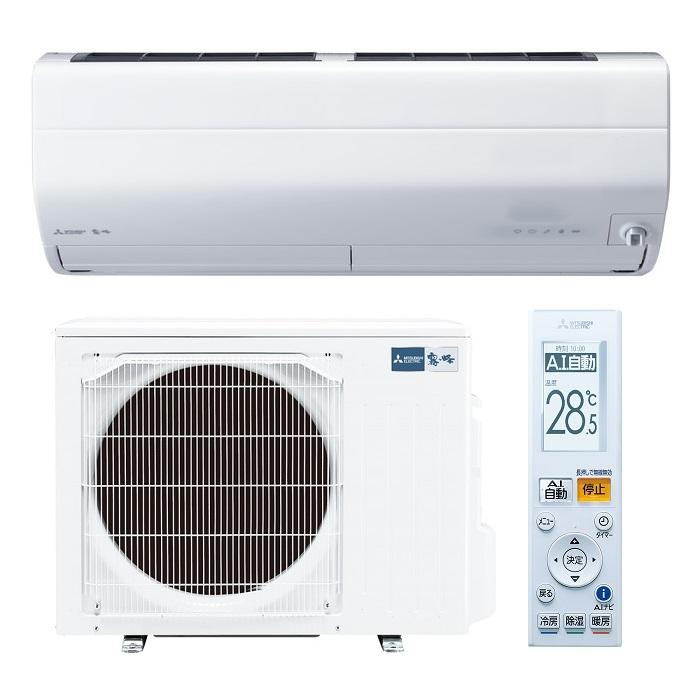 三菱電機 エアコン 「霧ヶ峰 Zシリーズ」 単相200V(14畳用) ピュアホワイト MSZ-ZW4020S-W【納期目安:10/上旬入荷予定】