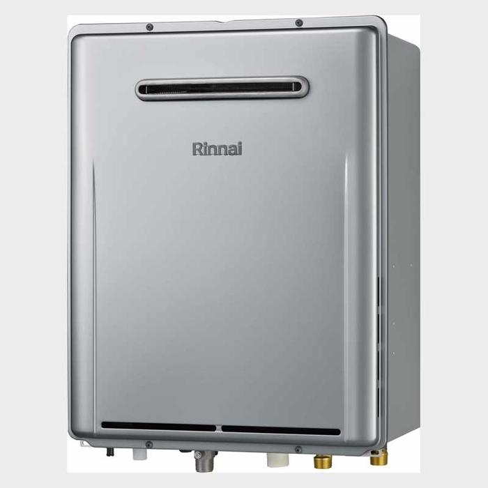 リンナイ eco 20号 屋外壁掛型ガスふろ給湯器 フルオート(プロパンガス LPG)(シャンパンメタリック)(※PS設置はできません) RUF-E2006AW-LPG