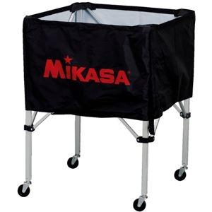 その他 MIKASA(ミカサ)器具 ボールカゴ 箱型・中(フレーム・幕体・キャリーケース3点セット) ブラック 【BCSPS】 ds-2262560