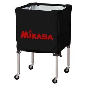 その他 MIKASA(ミカサ)器具 ボールカゴ 箱型・小(フレーム・幕体・キャリーケース3点セット) ブラック 【BCSPSS】 ds-2262571