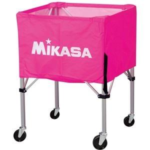 その他 MIKASA(ミカサ)器具 ボールカゴ 屋外用(フレーム・幕体・キャリーケース3点セット) ピンク 【BCSPHL】 ds-2262594