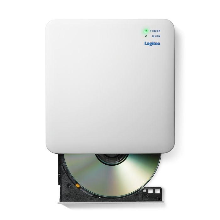 エレコム WiFi対応DVDディスクドライブ/5GHz/iOS_Android対応/DVD再生対応/USB3.0/ホワイト LDR-PS5GWU3PWH