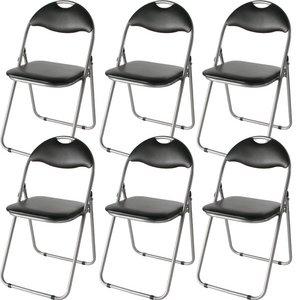 その他 折りたたみパイプ椅子 【12脚入り/1セット】 スチール 背もたれ付き (会議用椅子/ミーティングチェア) IK-0102 ds-2200681