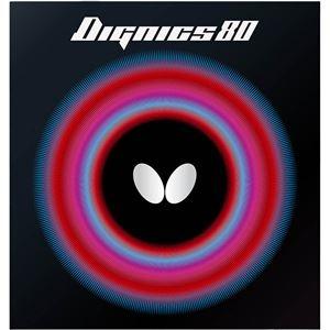 その他 Butterfly(バタフライ) ハイテンション裏ラバー DIGNICS 80 ディグニクス80 ブラック 厚 ds-2267642