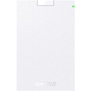 その他 バッファロー USB3.2(Gen1)対応ポータブルHDD Type-Cケーブル付 1TB ホワイト ds-2269667