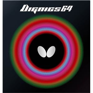 その他 Butterfly(バタフライ) ハイテンション裏ラバー DIGNICS 64 ディグニクス64 レッド 特厚 ds-2267645